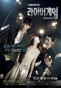 "LIAR GAME  KOREAN DRAMA SERIES 3 DISC END Rp.15..000,- Title: 라이어 게임 / Liar Game Chinese Title: 诈欺游戏 Genre: Mystery, Thriller Episodes: 12 Broadcast network: tvN Broadcast period: 2014-Oct-20 to 2014-Nov-25 Air time: Mondays & Tuesdays 23:00 Synopsis Based on the manga series ""Liar Game"" by Shinobu Kaitani which was first published on 2005 in Japanese magazine 'Weekly Young Jump'. This drama is about various contestants take part in a game show with a prize of 10 billion won wherein contestants are encouraged to cheat and lie. The contestants who able to cheat the others will wins the prize but debt if he/she loses the game. Contestants include genius swindler Cha Woo Jin (Lee Sang Yoon) and naive college student Nam Da Jung (Kim So Eun). Meanwhile, Kang Do Young (Shin Sung Rok) will play the MC and planner of this game show. Cast Main Cast Lee Sang Yoon as Cha Woo Jin (participant of reality show ""Liar Game"") Kim So Eun as Nam Da Jung (participant of reality show ""Liar Game"") Shin Sung Rok as Kang Do Young (MC and planner of reality show ""Liar Game"") People around Cha Woo Jin Choi Yoon So as Goo Ja Young (magazine reporter) People around Nam Da Jung Jo Jae Yoon as Jo Dal Goo Uhm Hyo Sup as Da Jung's father Kim Min Kyung as Sung Ja People around Kang Do Young Cha Soo Yun as Lee Yoon Joo (PD of reality show ""Liar Game"") Choi Jin Ho as Director Jang Liar Game Participants Kim Ik Tae as Teacher Hyun Others Lee El  Jang Seung Jo as Kim Bong Geun Lee Shi Hoo as Hacker Kang Ho as President Bae Kim Young Ae (cameo) Production Credits Production Company: Apollo Pictures, Fantagio Director: Kim Hong Sun Screenwriter: Ryu Yong Jae"